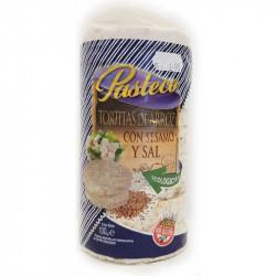Galette de riz au sesame