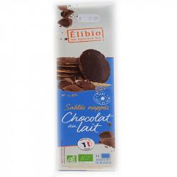 Sablés nappés chocolat au lait