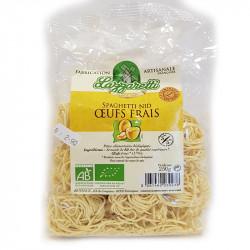 Spaghetti nid oeufs frais